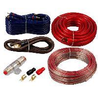 Kit de cables Kit pour amplificateur 60A Alim 20mm Audio 2x2.5mm2 - ADNAuto