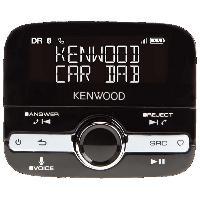 Kits Main libre Auto Kit main libre Bluetooth Kenwood KTC-500DAB avec fonction DAB+