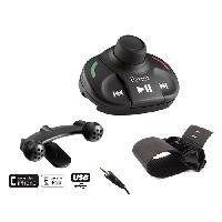 Kits Main libre Auto Kit mains-libres PARROT MKI9000 TELECOMMANDE SANS ECRAN USBIPHONEJACK 2TEL VOCAL