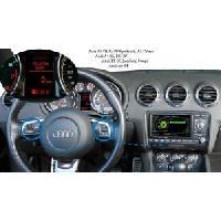 Kits Main libre Auto Kit mains libre Bluetooth Adaptable pour Audi A3A4B6B7TTA6