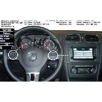 Kits Main libre Auto Kit mains libre Bluetooth Adaptable pour VolkswagenSeatSkoda