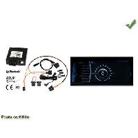 Kits Main libre Auto Kit mains libres bluetooth compatible origine BMW avec USB et Idrive serie F - ADNAuto