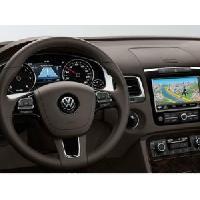 Kits Main libre Auto Kit mains libres bluetooth compatible origine Volkswagen Touareg 062010+ RNS850