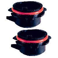 Kits de Conversion Xenon 2 Adaptateurs - Lampe Hid compatible avec BMW Series 3 528 529
