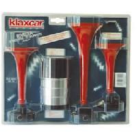 Klaxons Avertisseur 3 trompes 12V - ADNAuto