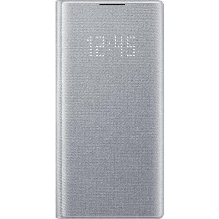 LED-View-Cover-Silver-Note10-Samsung miniature 2