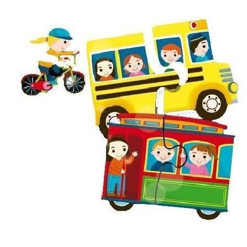 LISCIANI-GIOCHI-Puzzle-Baby-duo-la-ville miniature 2