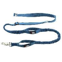Laisse - Sangle - Accouple I DOG Laisse de traction Canicrosse Style - Bleu - Pour chien