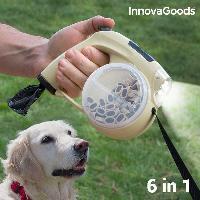 Laisse - Sangle - Accouple INNOVA GOODS Laisse rétractable 6 en 1 - Pour chiens - Innovagoods