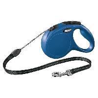 Laisse - Sangle - Accouple KERBL Laisse-corde Flexi Classic M - Longueur - 5 m - Poids max - 20 kg - Bleu - Pour chien