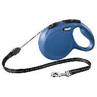 Laisse - Sangle - Accouple KERBL Laisse-corde Flexi Classic M - Longueur - 8 m - Poids max - 20 kg - Bleu - Pour chien