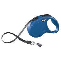 Laisse - Sangle - Accouple KERBL Laisse-corde Flexi Classic S - Longueur - 5 m - Poids max - 15 kg - Bleu - Pour chien