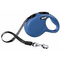 Laisse - Sangle - Accouple KERBL Laisse-corde Flexi Classic XS - Longueur - 3 m - Poids max - 12 kg - Bleu - Pour chien