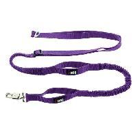 Laisse - Sangle - Accouple Laisse de traction Canicross - Violet et gris - Pour chien