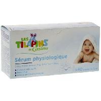 Lait - Eau Micellaire - Liniment - Lingette LES TILAPINS Sérum physiologique x 40 doses