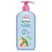 Lait - Eau Micellaire - Liniment - Lingette LOVE AND GREEN Eau nettoyante Bio - 500 ml - Love & Green