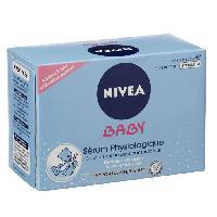 Lait - Eau Micellaire - Liniment - Lingette NIVEA BABY Sérum Physiologique 24 doses - 5 ml - Mixa Bebe
