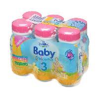 Lait Bebe Baby Croissance Lait saveur vanille - 6 x 25cl