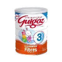 Lait Bebe GUIGOZ Lait de croissance fibres - 800 g - de 1 a 3 ans