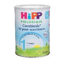 Lait Bebe HIPP BIOLOGIQUE Combiotic Lait en poudre 1er age - 900 g - De 0 a 6 mois