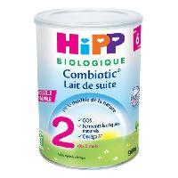 Lait Bebe HIPP BIOLOGIQUE Combiotic Lait en poudre 2eme age - 900 g - De 6 a 12 mois