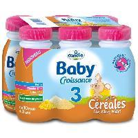 Lait Bebe Lait baby croissance 3 - 6 x 25cl