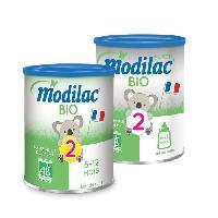 Lait Bebe MODILAC Bio Lait en poudre 2eme age - 800 g - Des 6 a 12 mois - Modillac