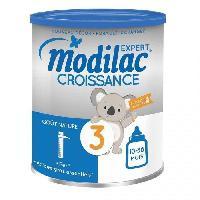 Lait Bebe MODILAC Expert Croissance Lait en poudre 3eme age - 800 g - Des 10 mois a 3 ans - Modillac