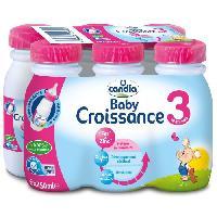 Lait Bebe lait croissance 6x25cl