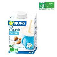 Lait En Poudre - Lait Vegetal En Poudre BJORG Lait d'Amande Calcium Bio - 50 cl