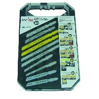 Lame De Decoupe TEC HIT Coffret 10 lames scie sauteuse Bosch - AEG - Makita - Metabo - Hitachi - Tech-it