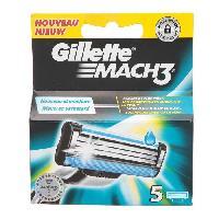 Lame De Rasoir Vendue Seule GILLETTE Mach3 Lames X5