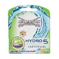 Lame De Rasoir Vendue Seule Hydro 5 sensitive 8 lames de rasoir