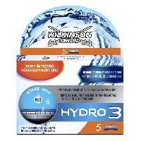 Lame De Rasoir Vendue Seule WILKINSON Hydro 3 Ceramide - 5 Lames