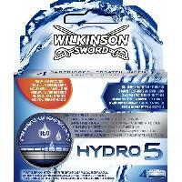 Lame De Rasoir Vendue Seule WILKINSON Hydro 5 - 4 Lames - Wilkinson Swords
