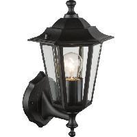 Lampadaire - Lampe De Jardin 31880 Luminaire exterieur - 1xE27 60W 230V - Aluminium Fonte noir