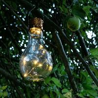 Lampadaire - Lampe De Jardin GALIX Lampe de table solaire - Ampoule 2 en 1