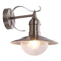Lampadaire - Lampe De Jardin GLOBO LIGHTING Applique exterieure inox - Polycarbonate translucide