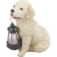 Lampadaire - Lampe De Jardin Globo Lighting Lampe solaire - Plastique beige blanc - IP44