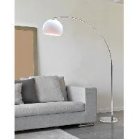 Lampadaire DESI lampadaire ARC Blanc hauteur 166cm