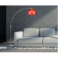 Lampadaire DESI lampadaire ARC Rouge hauteur 166cm
