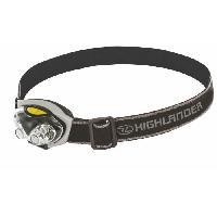 Lampe - Lanterne - Eclairage D'appoint De Camping Highlander Spark 4+2 LED Tete De La Torche Noir Argent