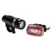Lampe Frontale Multisport Eclairage Led velo avant et arriere 3 modes - Raymond