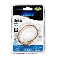 Lampes LEDs BANDE 12 LED BLANC LONG. 20CM