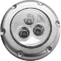 Lampes LEDs Eclairage bouton-poussoir 3 leds bleues a piles [521568] - ADNAuto