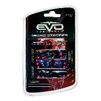 Lampes LEDs Led points lumineux Strobe Rouge - EvoFormance