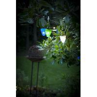 Lampion - Lanterne D'exterieur GALIX Lampion solaire - Plastique blanc