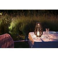 Lampion - Lanterne D'exterieur GALIX Lanterne solaire - Resine tressee
