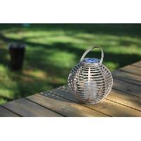 Lampion - Lanterne D'exterieur MUNDUS Lanterne en plastique O22.5 x H20 cm - Taupe