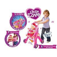 Landau - Poussette VTECH Little Love - Ma Poussette 3 en 1 interactive